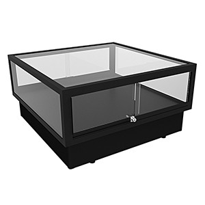 CT 900 Coffee Table Display Case with LED Lighting – Fully assembled