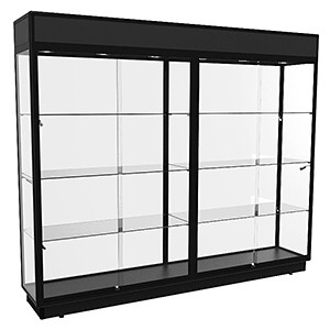 TTF 2400 Extra-Large Display Cabinet - Fully Assembled