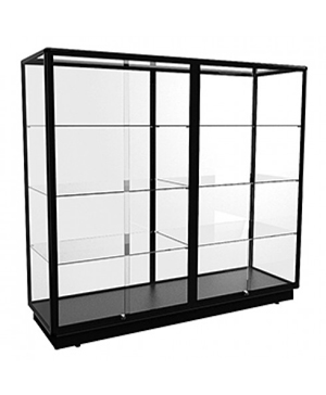 TGL 2000 Black Wall Display Cabinet Extra-Large by Showfront