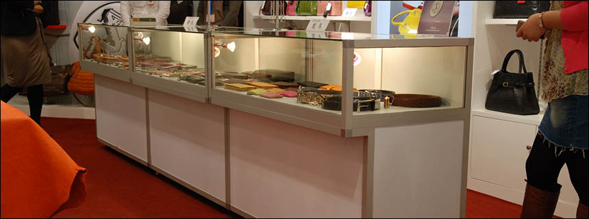 Hire Jewellery Display Cabinets by Showfront