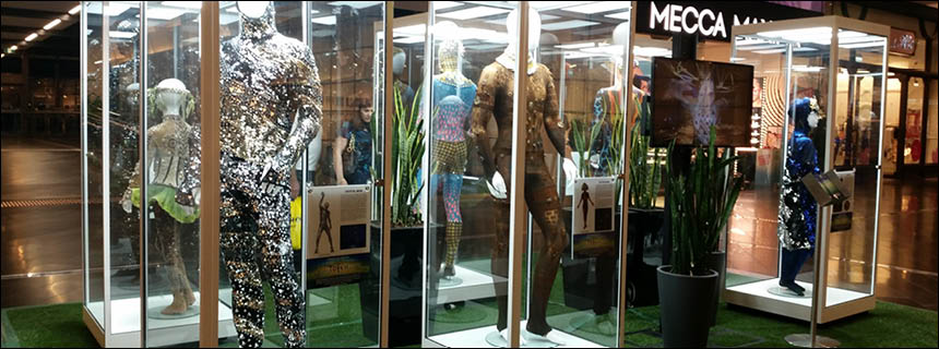 Hire Mannequin Display Cabinets by Showfront