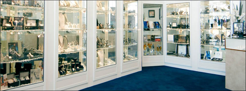 Jewellery Display Cabinets & Counters by Showfront