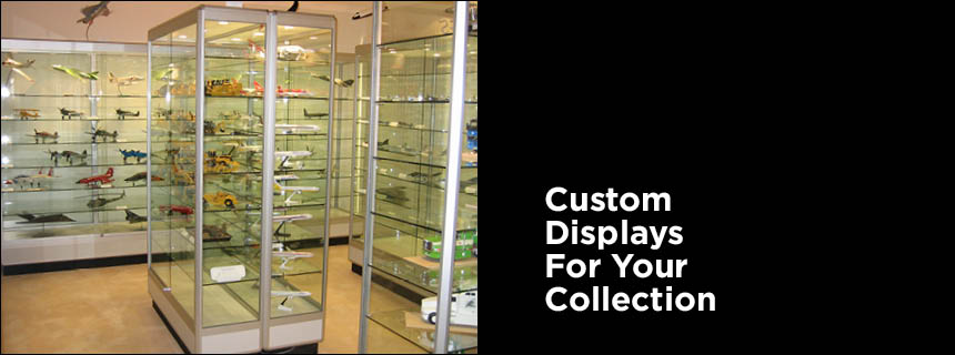 Model & Collectible Display Cabinets by Showfront