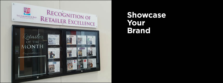 Wall Mounted Display Cabinets by Showfront