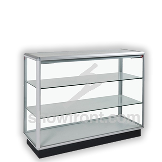 Full Glass Counter Display Cabinets