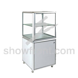 Hire Pedestal Cube Display Cabinets