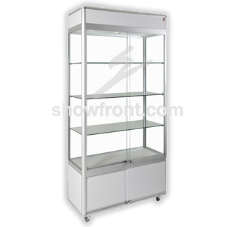 Hire Upright Display Cabinets