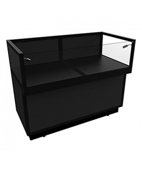 Black JCDL 1200 Jewellery Display Counter With Storage