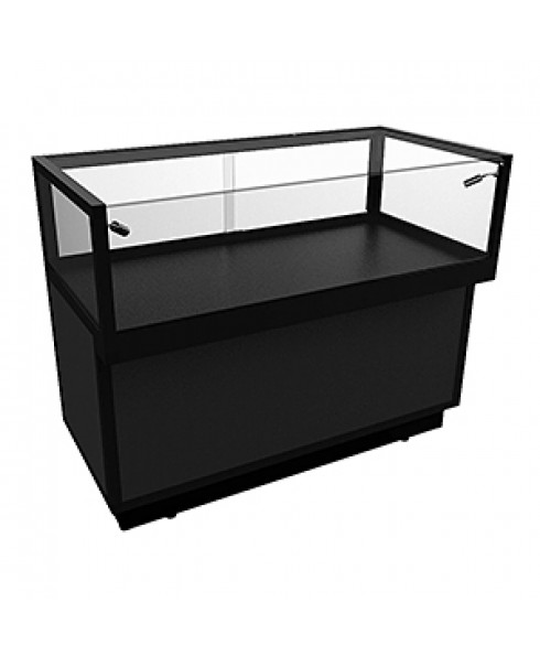 JCDLSD 1200 Black Jewellery Display Counter With Storage by Showfront