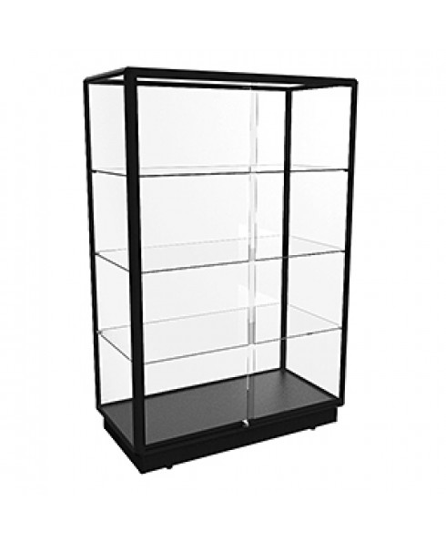 TGL 1200 Black Glass Display Cabinet By Showfront