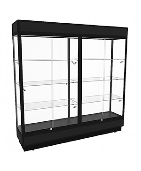 TPFL 2000 Upright Glass Display Cabinet with LED Downlights by Showfront