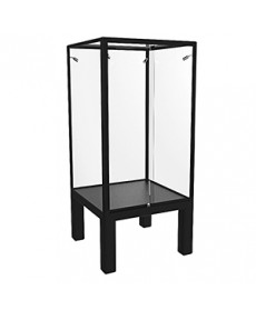 TTC 850 Black Treasury Tower Cube Display Case by Showfront