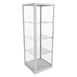 ETGL 600 Essentials Tower Glass Display – Fully Assembled