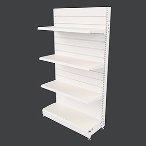 MR25-SS Gondola - Single Sided Bay with Slatwall Panel Back