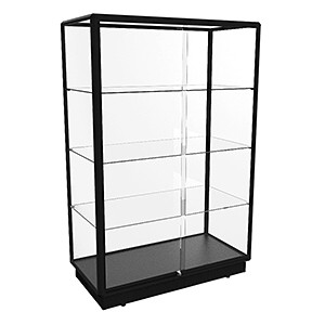 TGL 1200 Glass Display Cabinet - Fully Assembled
