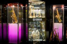 Tower Display Cases by Showfront - Melbourne Brass n' Woodwind