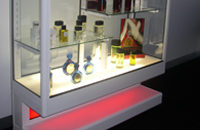 Custom Display Cabinets by Showfront - Backlit Bottom