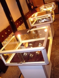 Hire Mushroom Display Cases