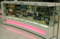 Shop Counters by Showfront - Custom Glass - My Beauty Spot