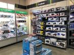 Autobarn Shop Fit out - Custom Cabinets and MDR shelving