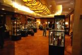Black Exhibition Hire Cabinets