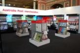 Australia Post Exibition Stand at World Stamp Expo