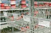 Close-up of Showfront's Racking System at Total Eden