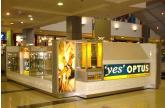 Shopping Mall Kiosk - Optus