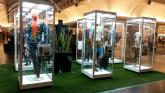 Mannequin Display Cabinets by Showfront at High Point SC featuring Cirque Du Soleil Costumes 2