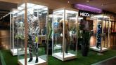 Mannequin Display Cabinets by Showfront at High Point SC featuring Cirque Du Soleil Costumes 4