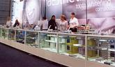 White Exhibtion Hire Counters