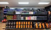 Custom Store Display cShelves at Tarneit Health Store by Showfront 1