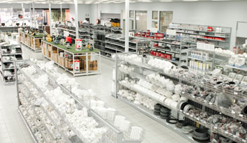 Shop Fittings by Showfront - Retail Shelving - Total Eden