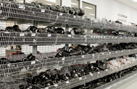 Retail Shelving by Showfront - Metal With Wire Baskets
