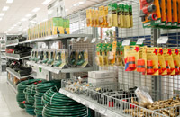 Shopfittings - Mesh Display Racking