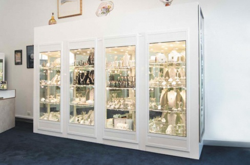 Jewellery Display Cabinet by Showfront