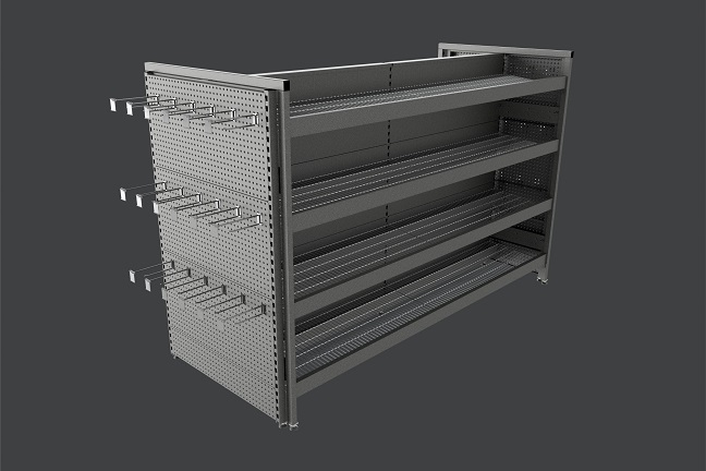 Showfront's MR41 Shelving Systems 1