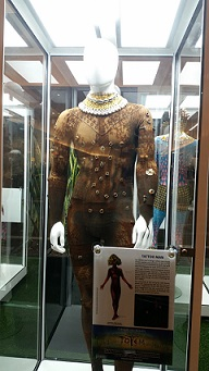 Showfront mannequin display cabinets chosen by Cirque Du Soleil