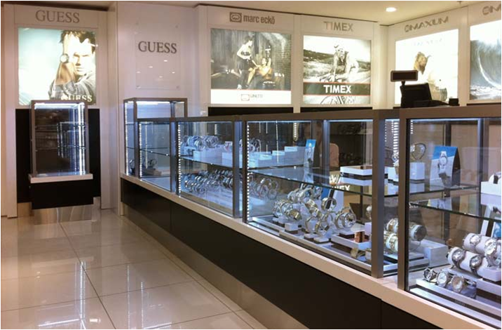 Commercial Display Cabinets by Showfront - Myer Sydney
