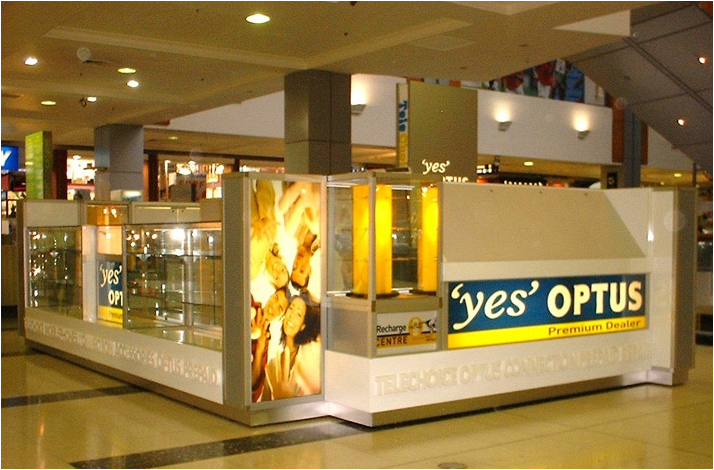 Commercial Display Cabinets by Showfront -Optus
