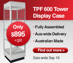 TSF 600 Tower Display Cabinet - Special Offer:Only $895. Offer ends Sep 19
