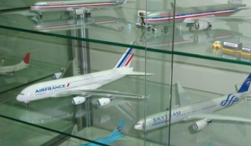 Airplane Collection Display Cabinet