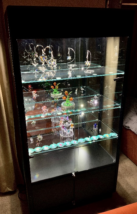 Custom Swarovski Display Cabinet For Your Crystal Collection ...