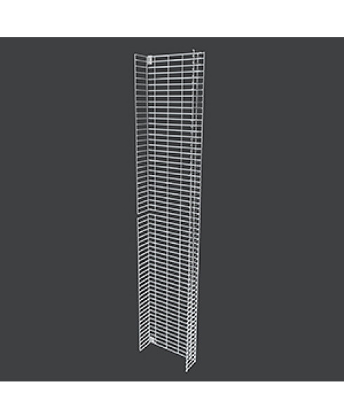 MR25 COSM1605 Clip On Side Mesh Panel with Shelves by Showfront