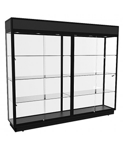 TTF 2400 Black Extra-Large Display Cabinet by Showfront