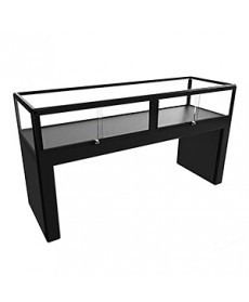 CTC 1800 Black Treasury Display Case by Showfront