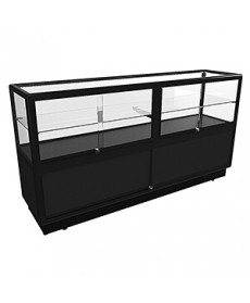 CTSL 1800 Black Display Counter by Showfront