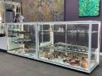 White CTSL Display cabinets at Mbunta Art Gallery Alice Springs by Showfront 1