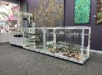 White CTSL Display cabinets at Mbunta Art Gallery Alice Springs by Showfront 2
