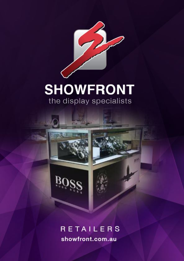 Showfront Display Cabinets Brochure